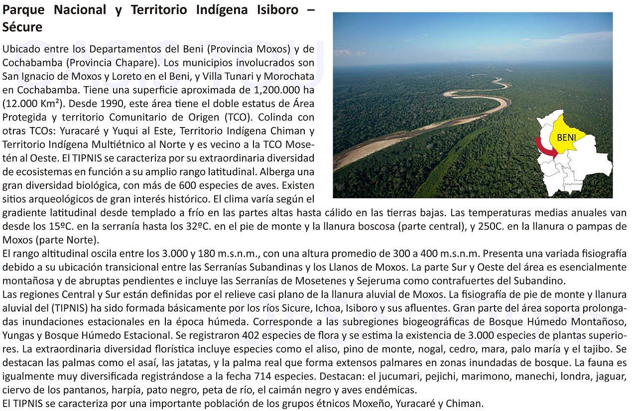 Parque Nacional Isiboro Sécure