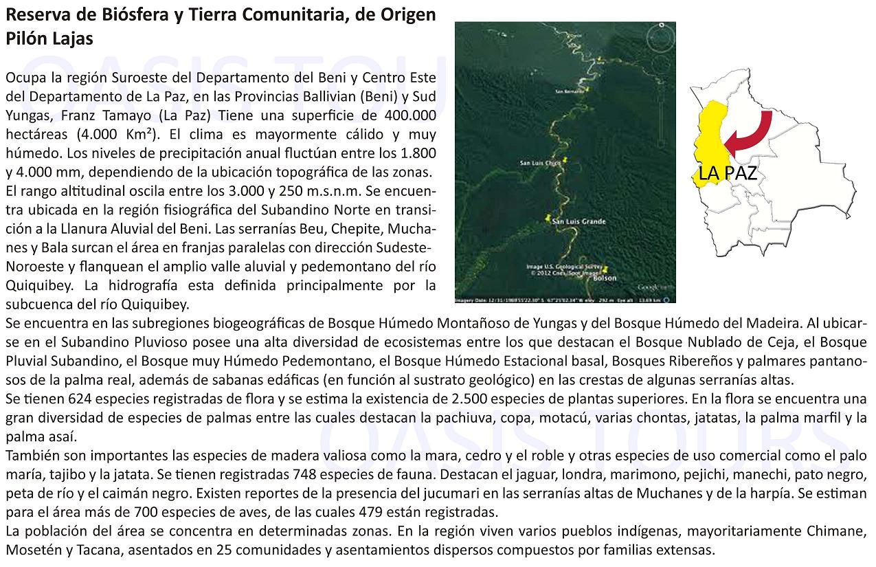 Reserva Pilón Lajas