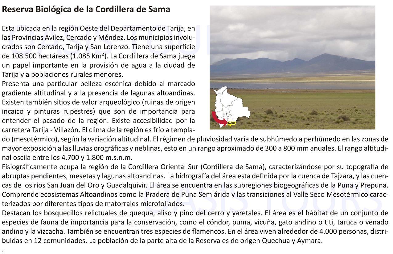 Cordillera de Sama