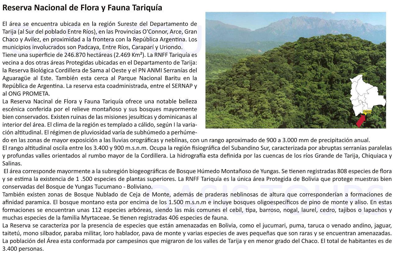 Reserva Tariquia